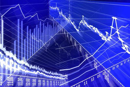 Graph, diagram (abstraction) Stock Photo - 5623471