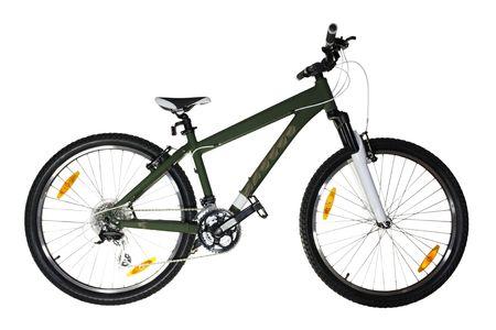 Bicycle (isolated) Stock Photo