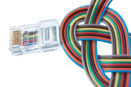 Multi color network cable