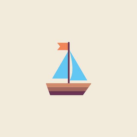 Ship vector illustration, ship icon