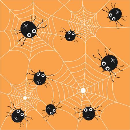Spider pattern. Spider web texture