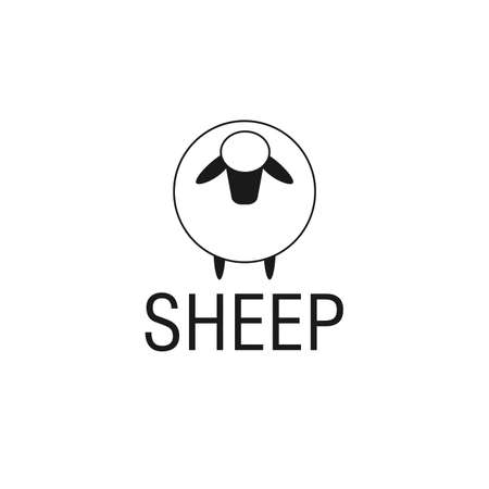sheep  design vector illustration design 矢量图像