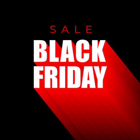 Sale Black Friday banner template