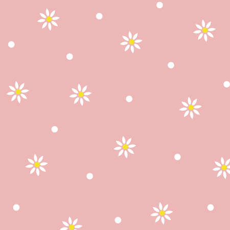 Flowers abstract pattern. Floral background 일러스트