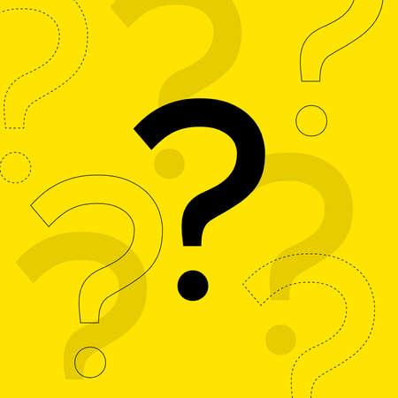 Question mark icon. Help symbol. 일러스트
