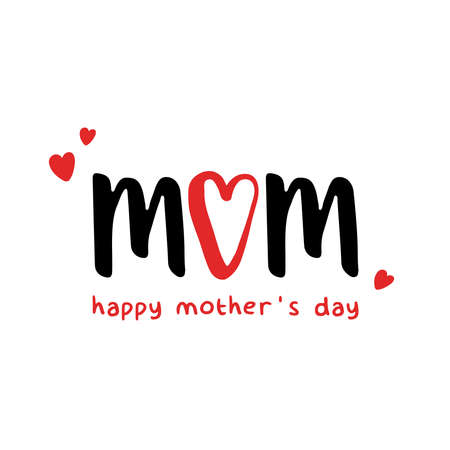 Mom Love. Happy mother's day 스톡 콘텐츠 - 168543728