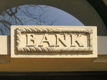 Bank unterzeichnen