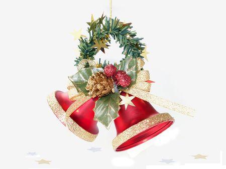 Weihnachten Glocken Dekoration  Lizenzfreie Bilder