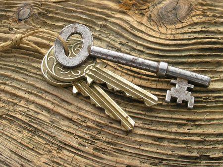 Old keys Stock Photo - 387176