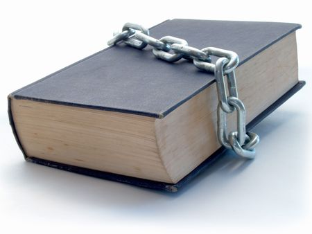 Book with chain Stock Photo - 493452