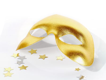 Party Mask Stock Photo