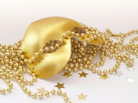Gold Gesichtsmaske