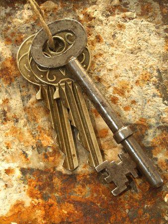 Bunch of keys Stock Photo - 558601