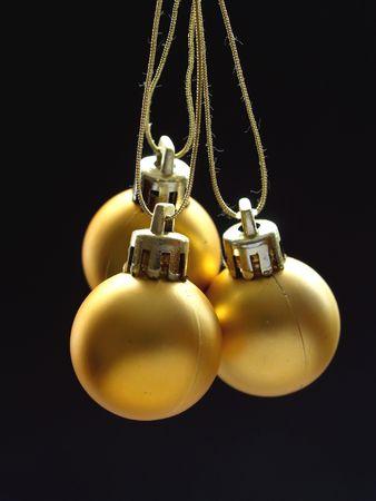 Gold Kugeln Lizenzfreie Bilder