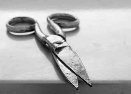 Old scissors Stock Photo - 725748