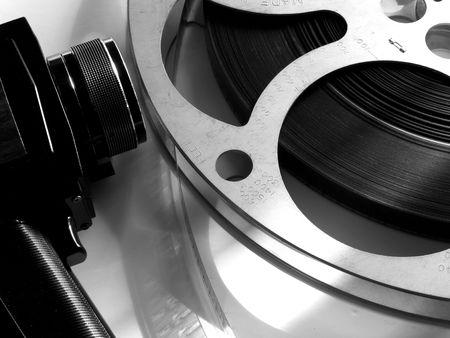 16mm cine film reel