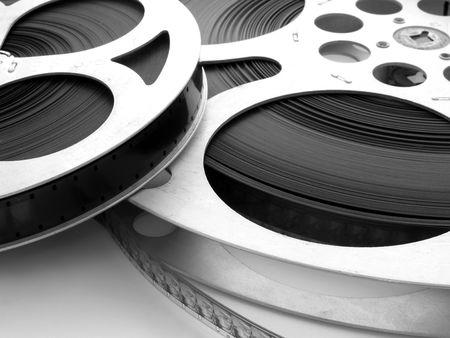 Film Spulen  Lizenzfreie Bilder