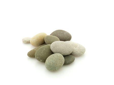 Haufen von Steinen Lizenzfreie Bilder