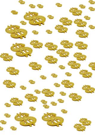 Dollar-Zeichen Lizenzfreie Bilder