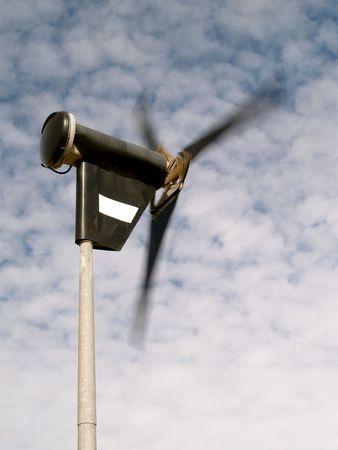 rotor: Rotor blade of wind powered generator