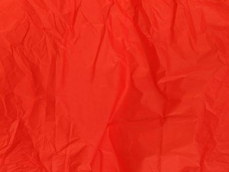 Red crumpled Tissue-Papier