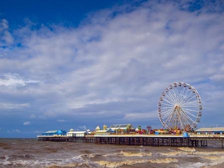 lancashire:  Central pier