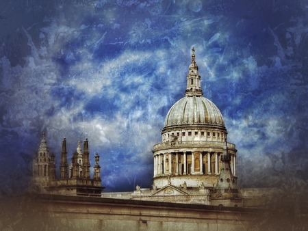 st pauls: St Pauls cathedral Stock Photo