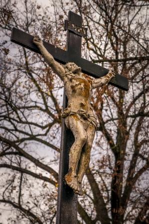 십자가에서의 예수님