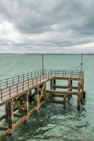 wharf: Wharf in Portsmouth in United Kingdom.