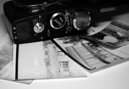 film history: old camera