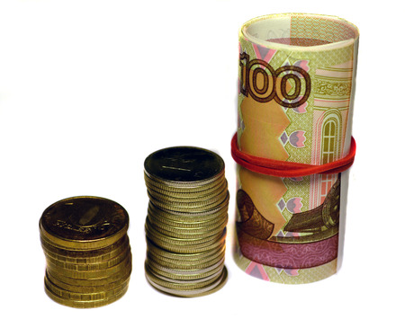 rubles: russian rubles banknotes and coins