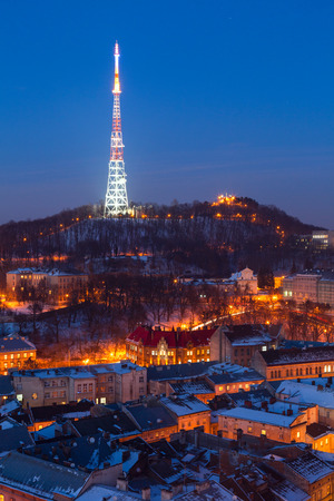 miracle: Lviv city winter miracle winter landscape