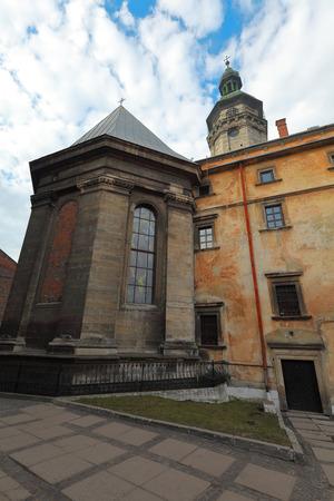 lviv: Bernardine Church architecture in Lviv, Ukraine