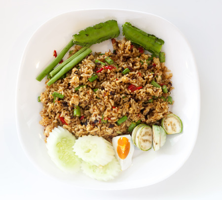 paste: Fried rice with shrimp paste