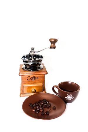 coffee blender: coffee equipment set , coffee blender and ceramic cup set