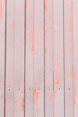 dirty sheet: Old rusty and dirty galvanized fence sheet placed vertically Stock Photo