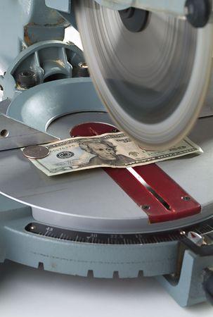 miter: Cutting costs. Money on miter saw.