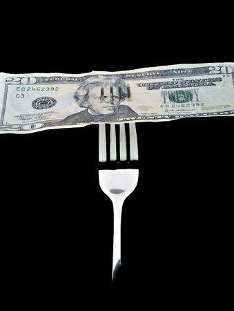 Concept of poor economy  版權商用圖片