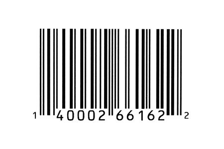 Macro photograph of a bar code Stock Photo