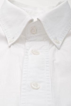 Close-up of a white dress shirt