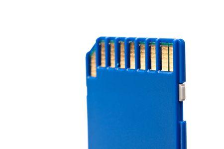 secure: Macro of a Secure Digital portable computer data card
