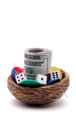 gniazdo jaj: Pionowe zamykać hazard na jaj gniazdo