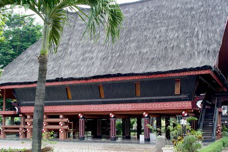 tradional: Indonesian tradional house