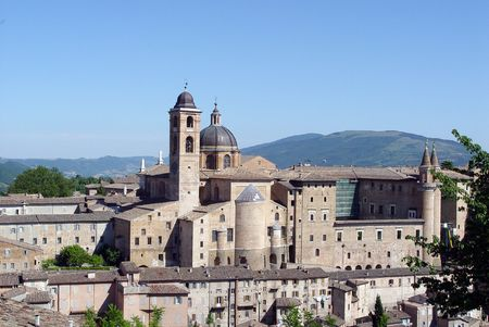 urbino: Urbino, Italy Stock Photo