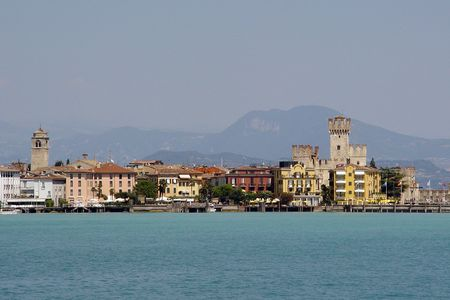 sirmione: Sirmione Lago di Garda Stock Photo