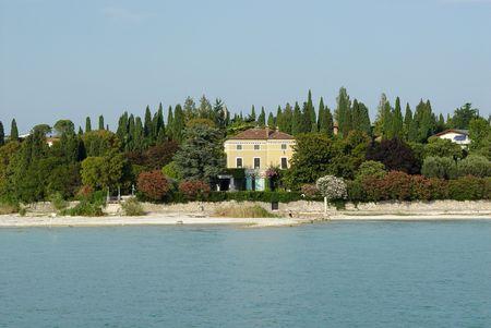 sirmione: Sirmione Lago di Garda Stock Photo