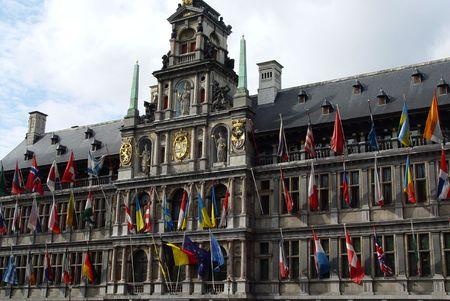 antwerp: Antwerp Town Hall