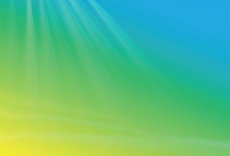 saturated color: Abstract green blue yellow background