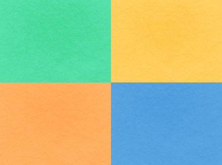 abstract flat background four colors Illustration