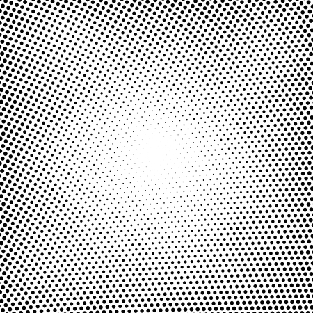 Halftone vector dots.Halftone effect. Background concept.  Vignette texture.  Circle dots isolated on the white background Illustration